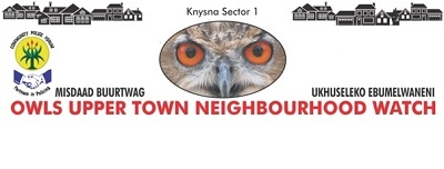 Upper Town Neighbourhood Watch Sector 1 - Knysna